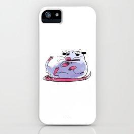 uh oh iPhone Case