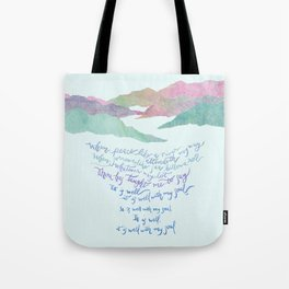 It Is Well With My Soul-Hymn Tote Bag
