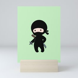 Tiny Ninja Mini Art Print