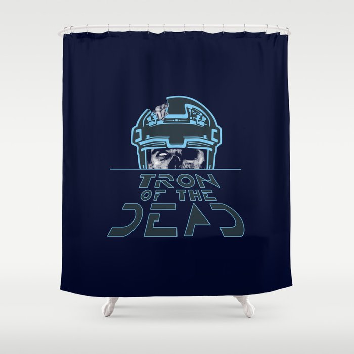 Tron Of The Dead Shower Curtain