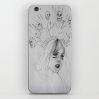 war iPhone & iPod Skins featuring War by Amelia Souva