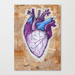 Heart of the Matter Canvas Print