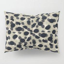 Metallic Camouflage Pillow Sham
