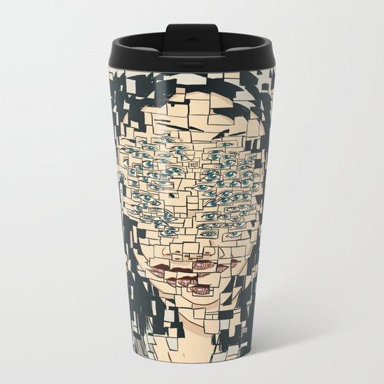 Fragmented Metal Travel Mug