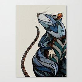 Berlin Rat Canvas Print