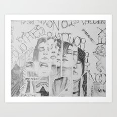 Teenagers Pt.2 Art Print