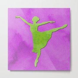 AP123 Watercolor dancer Metal Print