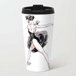 Black swan CoolNoodle Travel Mug