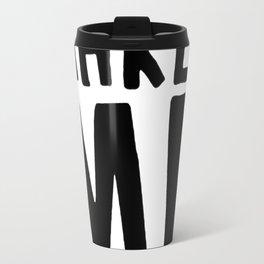 DECAF MAKES ME DEPRESSO T-SHIRT Travel Mug
