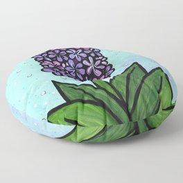 Hyacinth in Spring Floor Pillow