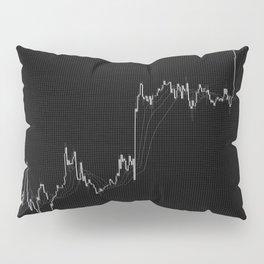 Forex candlestick chart Pillow Sham