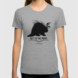Get to the Point - Porculope Silhouette T-shirt