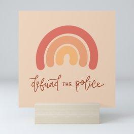 Defund the Police Mini Art Print