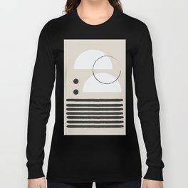 Abstract Modern Art Long Sleeve T-shirt