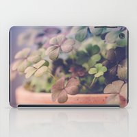 clover iPad Cases featuring Clover by Juste Pixx Photography