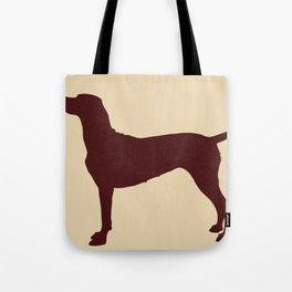 Vizsla Dog Print Tote Bag