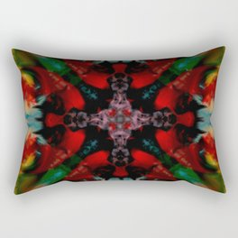 Realized Universe Vivid Abstract Pattern Rectangular Pillow