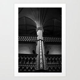 Columna Art Print
