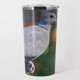 Eurasian Collared Dove Travel Mug