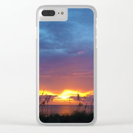 SUNSET I Clear iPhone Case