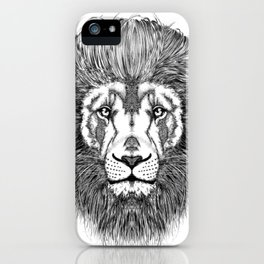 Pompadour Leo iPhone Case
