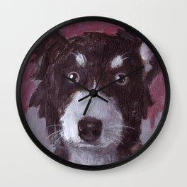 Po the Dog Wall Clock