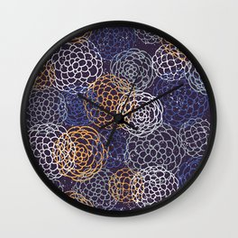 Japanese Pattern #1 Wall Clock
