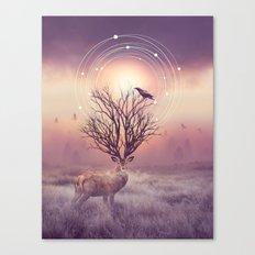 In the Stillness Canvas Print