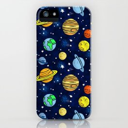Space and Planets iPhone Case