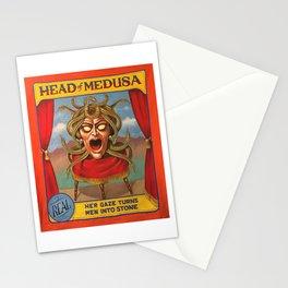 Head of Medusa Stationery Cards