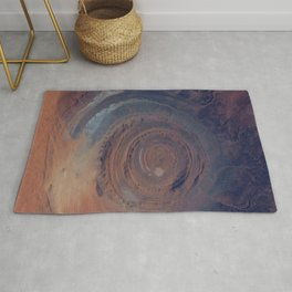 eye in the sky, eye in the desert | space 001 Rug