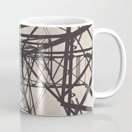Electrical Pole Upward View Coffee Mug