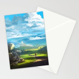 Road to the Promised Dream Stationery Cards