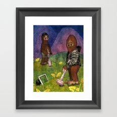 Croquet Framed Art Print