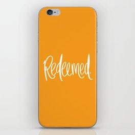 Redeemed iPhone Skin