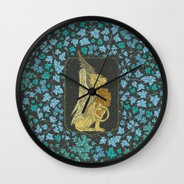 Mythical Beast 2 Color Wall Clock