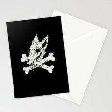 Dog & Crossbones Stationery Cards