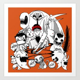 Mortis Ghost Art Prints Society6