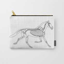 Horse Anatomy Carry-All Pouch