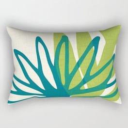 Whimsical Greenery Rectangular Pillow