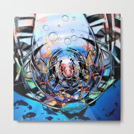 Bathysphere v.2 Metal Print