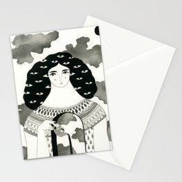 Existential cup of tea Stationery Cards