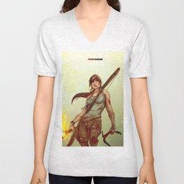 Tomb Raider Unisex V-Neck