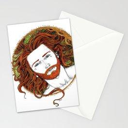 Orange Moon Stationery Cards