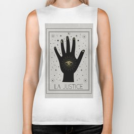 La Justice or The Justice Tarot Biker Tank