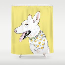 Sunny Elsa Shower Curtain