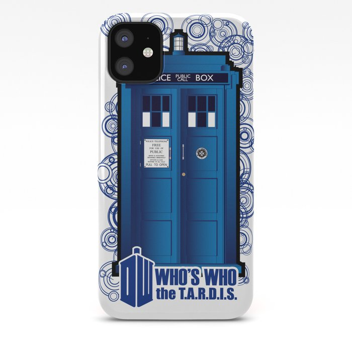 doctor who d iphone case