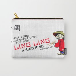 Give LingLing a RingRing Carry-All Pouch