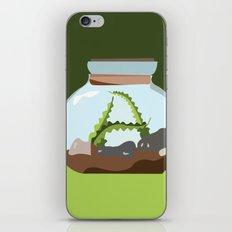 Terrarium Letter A iPhone & iPod Skin