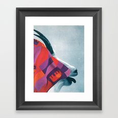 the fabric of reality (coarse) Framed Art Print